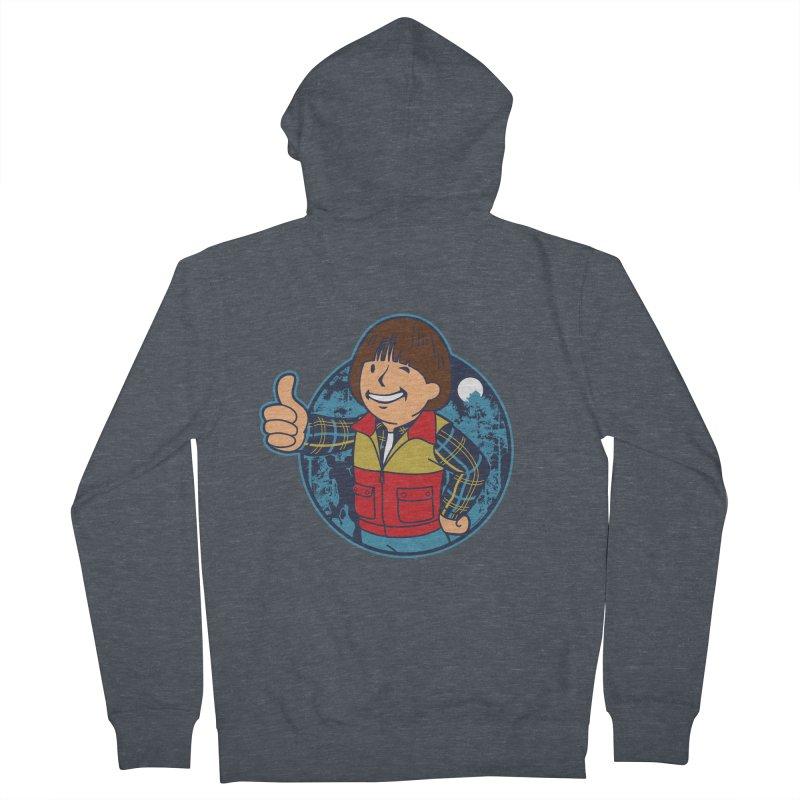 Boy from Hawkins Men's Zip-Up Hoody by boggsnicolas's Artist Shop