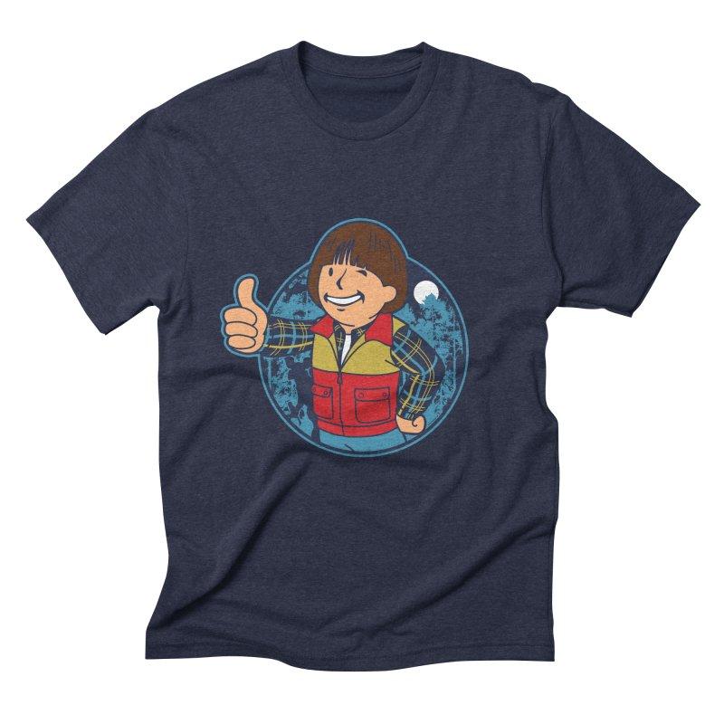 Boy from Hawkins Men's Triblend T-shirt by boggsnicolas's Artist Shop