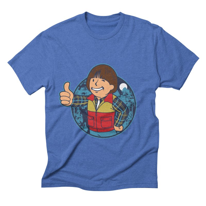 Boy from Hawkins Men's Triblend T-shirt by boggsnicolas's Artist Shop