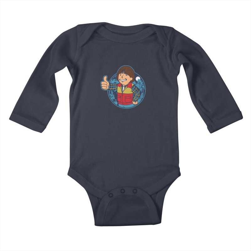 Boy from Hawkins Kids Baby Longsleeve Bodysuit by boggsnicolas's Artist Shop