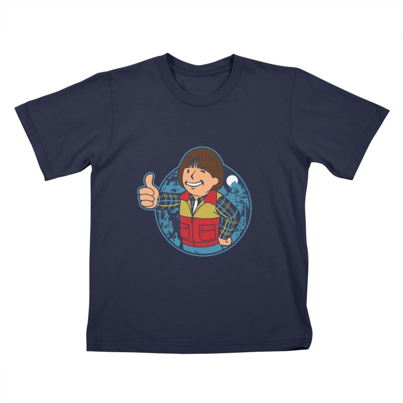 Boy from Hawkins Kids T-Shirt by boggsnicolas's Artist Shop