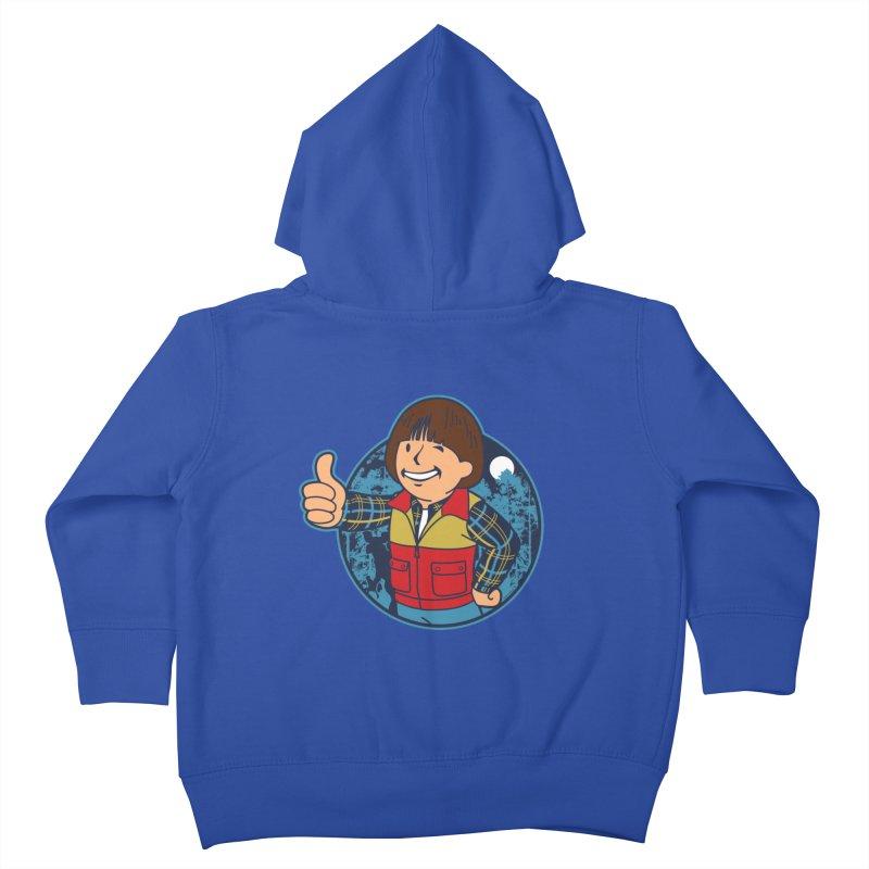 Boy from Hawkins Kids Toddler Zip-Up Hoody by boggsnicolas's Artist Shop