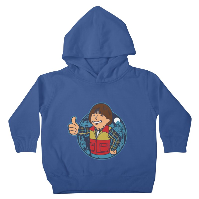 Boy from Hawkins Kids Toddler Pullover Hoody by boggsnicolas's Artist Shop