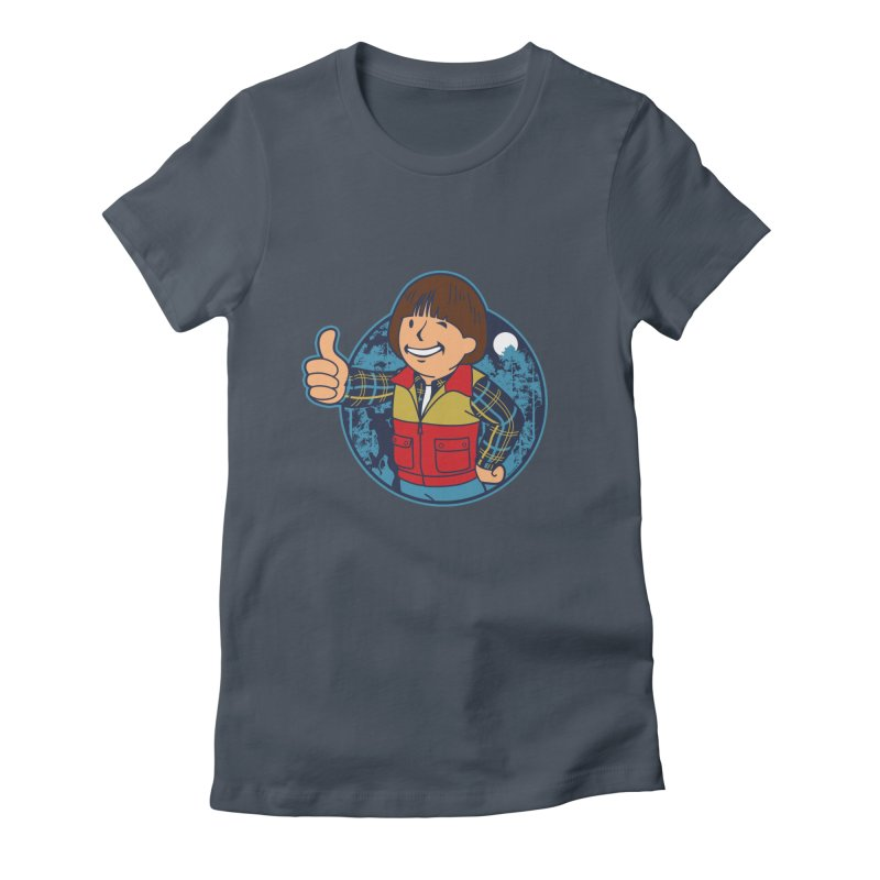 Boy from Hawkins Women's Fitted T-Shirt by boggsnicolas's Artist Shop