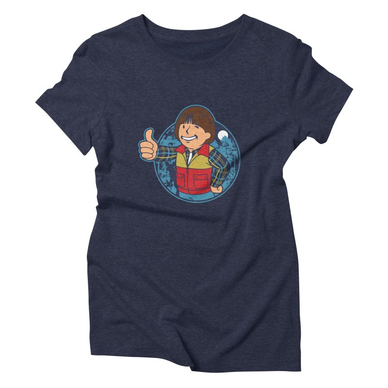 Boy from Hawkins Women's Triblend T-shirt by boggsnicolas's Artist Shop
