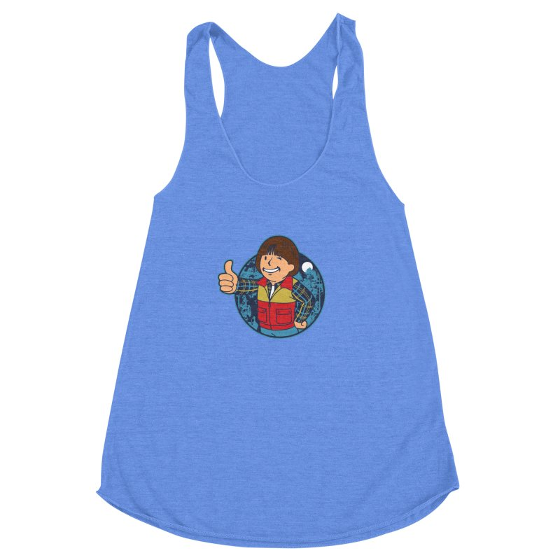 Boy from Hawkins Women's Racerback Triblend Tank by boggsnicolas's Artist Shop
