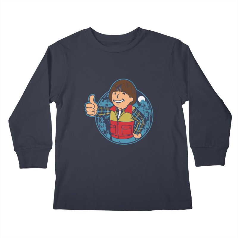Boy from Hawkins Kids Longsleeve T-Shirt by boggsnicolas's Artist Shop