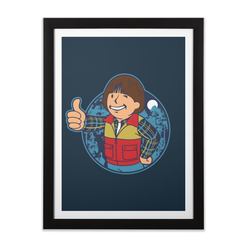 Boy from Hawkins Home Framed Fine Art Print by boggsnicolas's Artist Shop