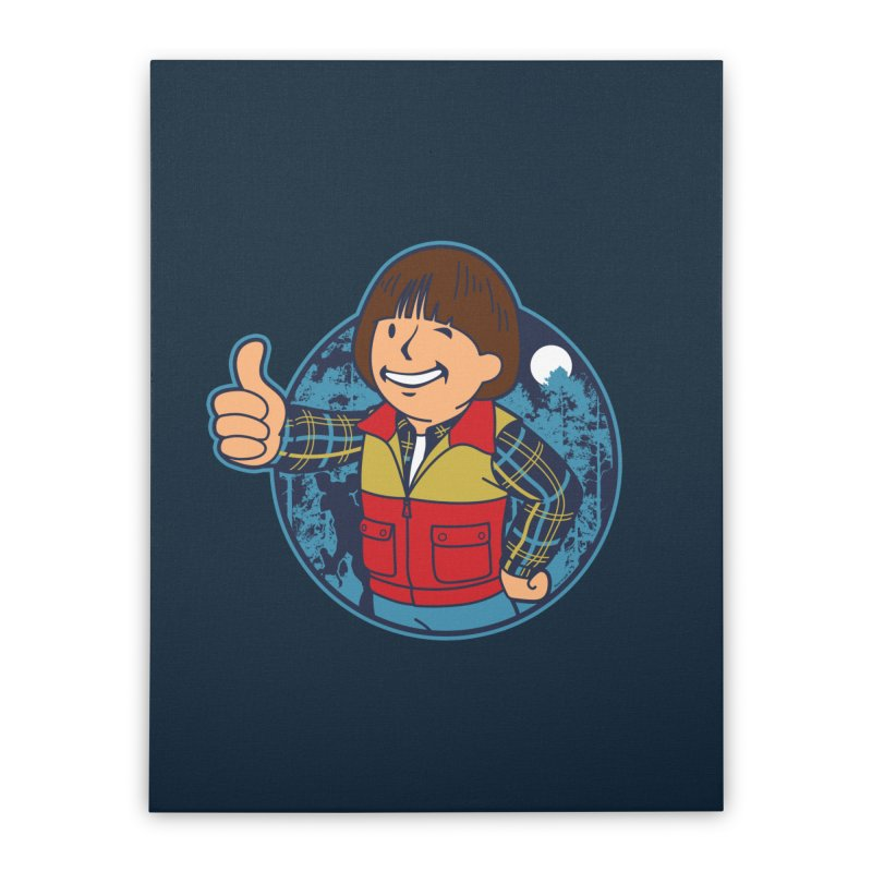 Boy from Hawkins Home Stretched Canvas by boggsnicolas's Artist Shop