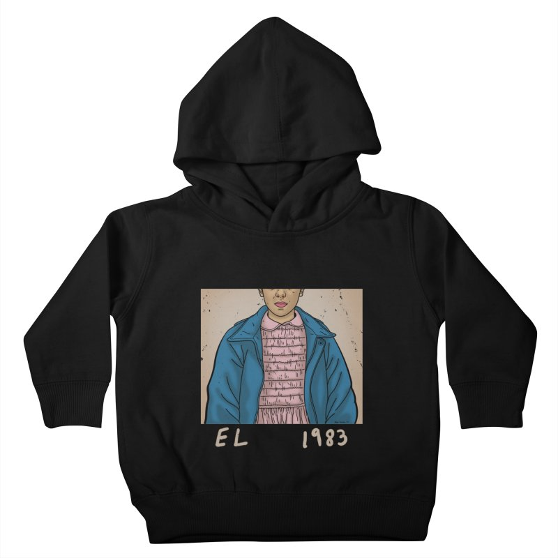 1983 Kids Toddler Pullover Hoody by boggsnicolas's Artist Shop