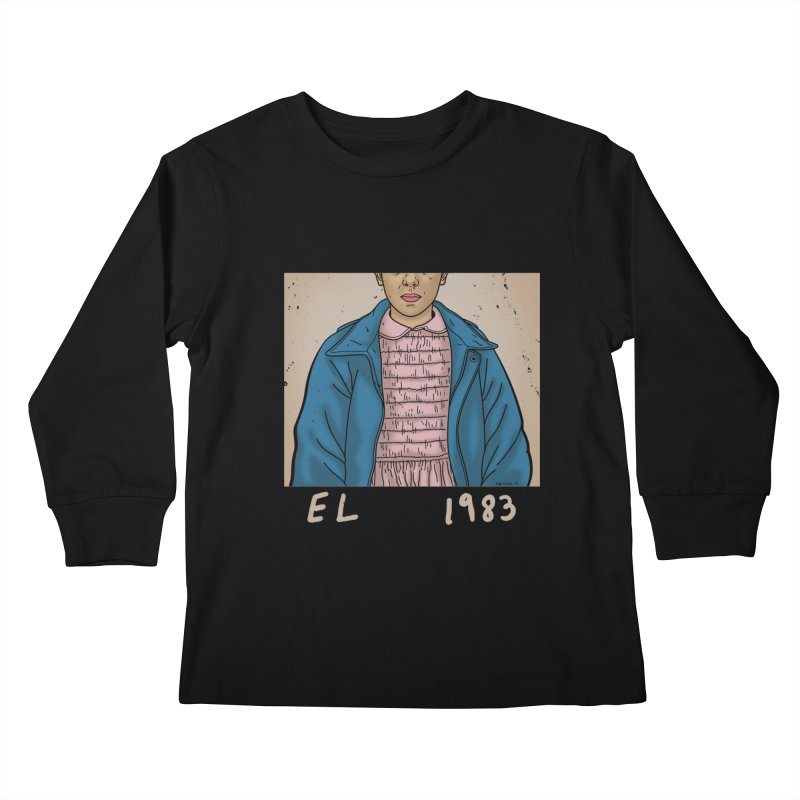 1983 Kids Longsleeve T-Shirt by boggsnicolas's Artist Shop