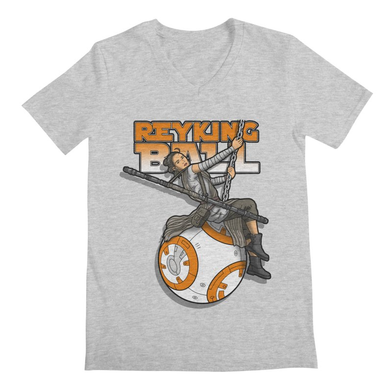 Reyking ball Men's V-Neck by boggsnicolas's Artist Shop