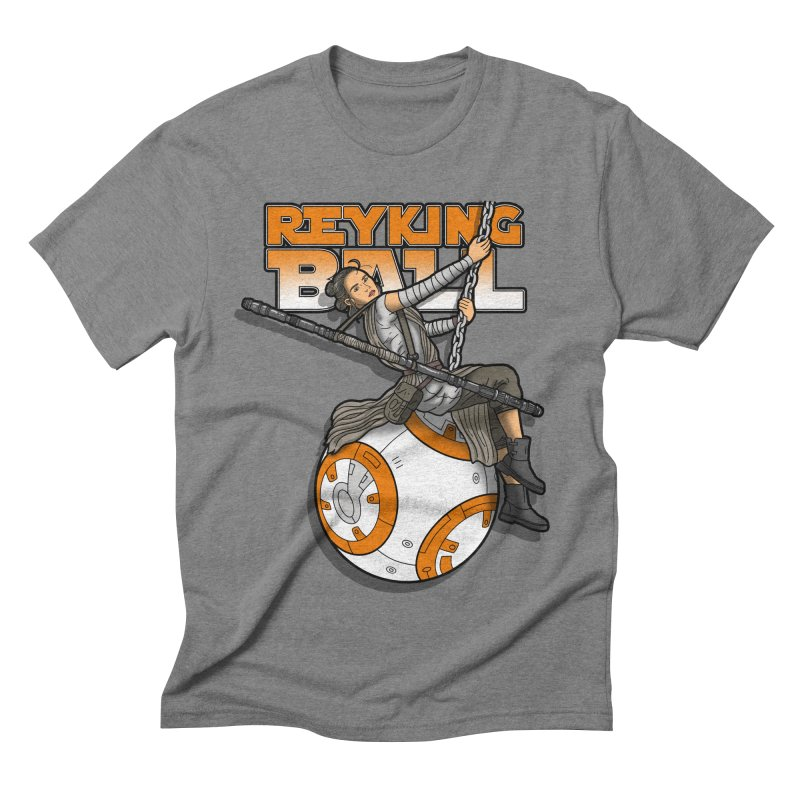 Reyking ball Men's Triblend T-shirt by boggsnicolas's Artist Shop