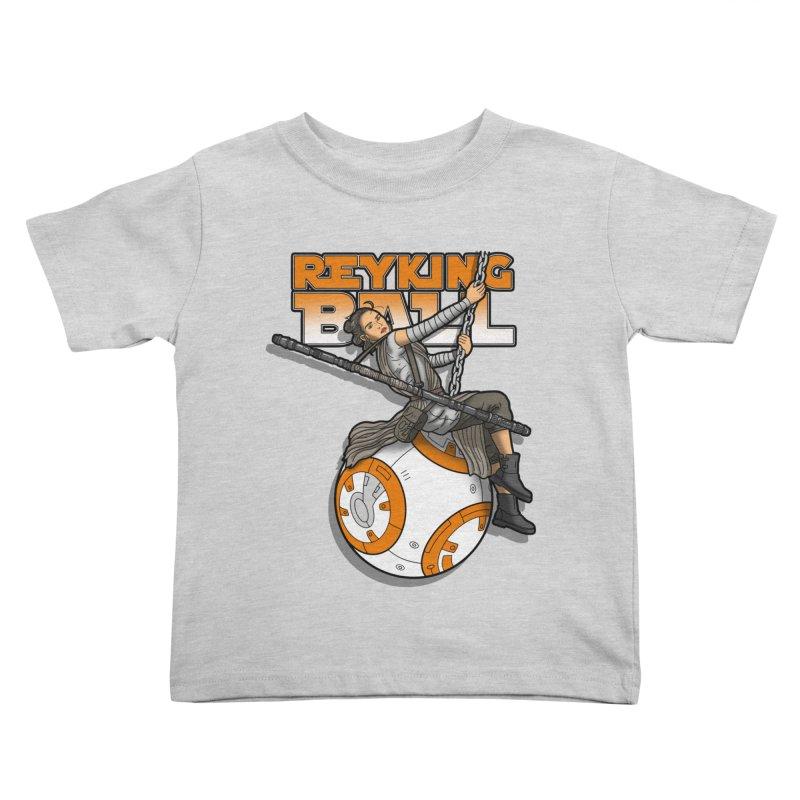 Reyking ball Kids Toddler T-Shirt by boggsnicolas's Artist Shop