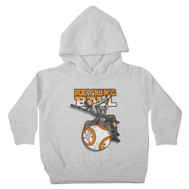 Reyking ball Kids Toddler Pullover Hoody by boggsnicolas's Artist Shop