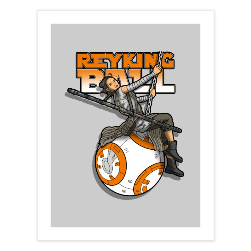 Reyking ball Home Fine Art Print by boggsnicolas's Artist Shop