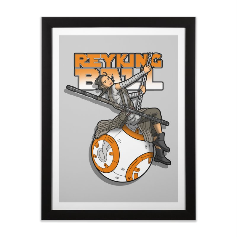 Reyking ball Home Framed Fine Art Print by boggsnicolas's Artist Shop