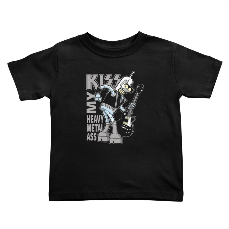 Heavy Metal Ass Kids Toddler T-Shirt by boggsnicolas's Artist Shop
