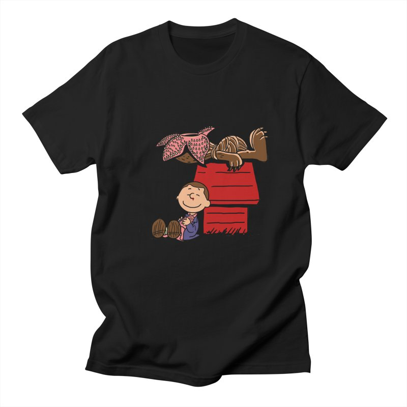 Stranger Peanuts Men's T-shirt by boggsnicolas's Artist Shop