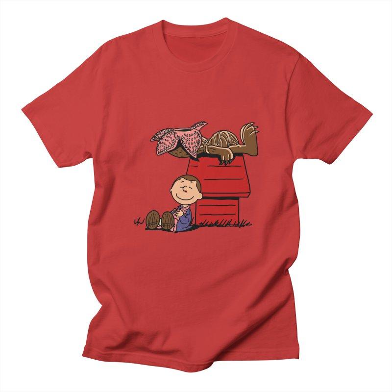 Stranger Peanuts Men's T-shirt by boggsnicolas's Artist Shop