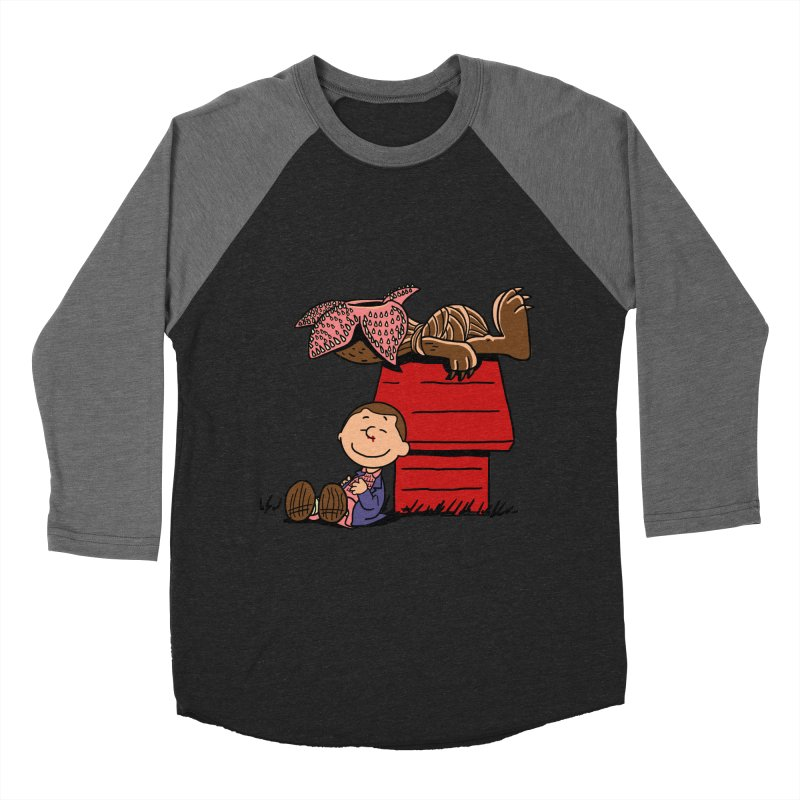 Stranger Peanuts Men's Baseball Triblend T-Shirt by boggsnicolas's Artist Shop