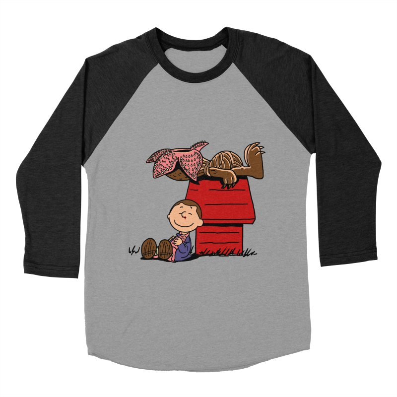 Stranger Peanuts Men's Baseball Triblend T-Shirt by boggsnicolas's Artist Shop