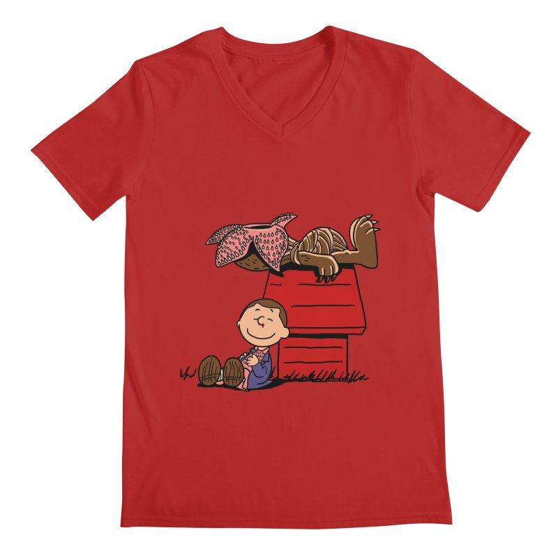 Stranger Peanuts Men's V-Neck by boggsnicolas's Artist Shop