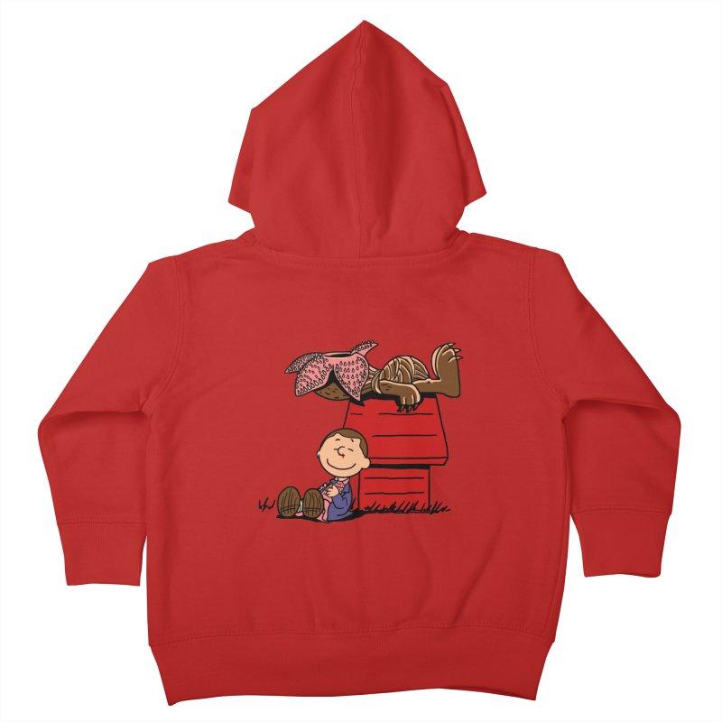 Stranger Peanuts Kids Toddler Zip-Up Hoody by boggsnicolas's Artist Shop