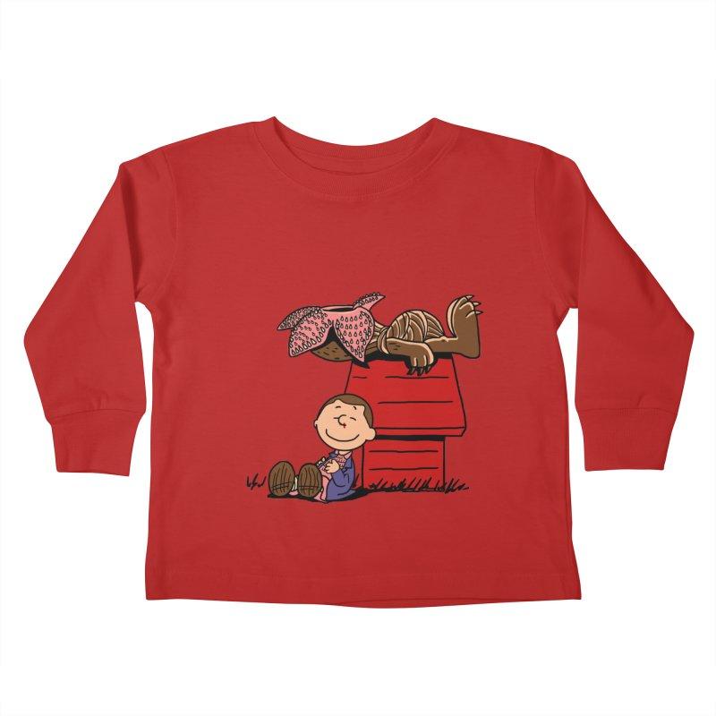 Stranger Peanuts Kids Toddler Longsleeve T-Shirt by boggsnicolas's Artist Shop