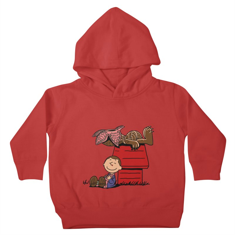 Stranger Peanuts Kids Toddler Pullover Hoody by boggsnicolas's Artist Shop