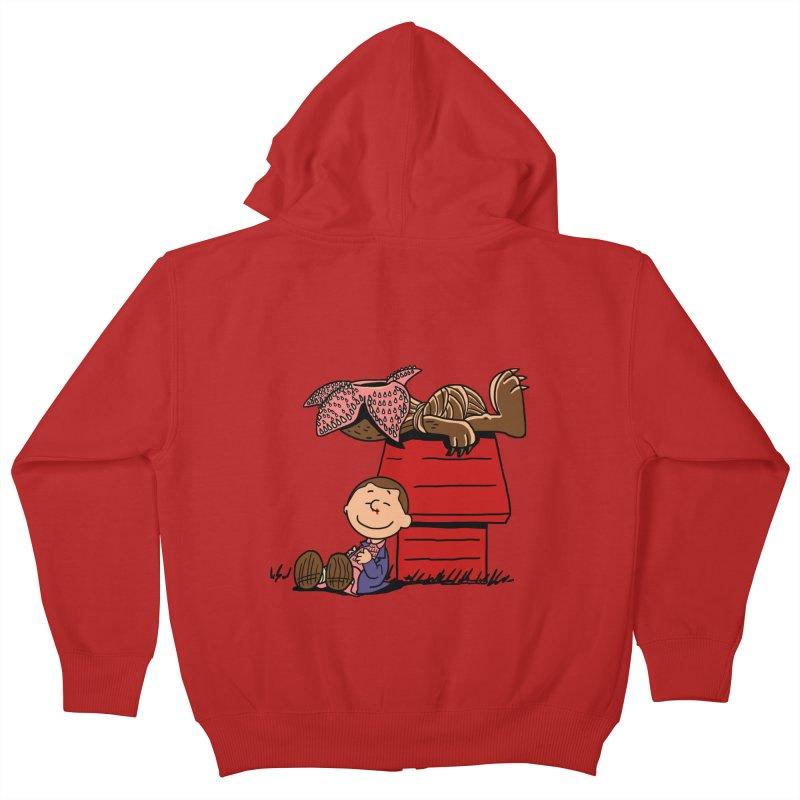 Stranger Peanuts Kids Zip-Up Hoody by boggsnicolas's Artist Shop