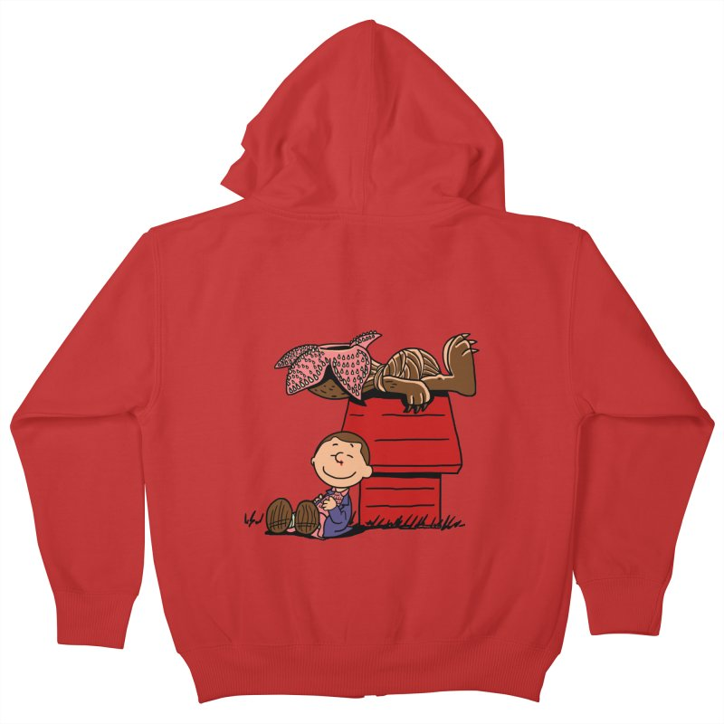 Stranger Peanuts Kids Zip-Up Hoody by boggsnicolas's Artist Shop