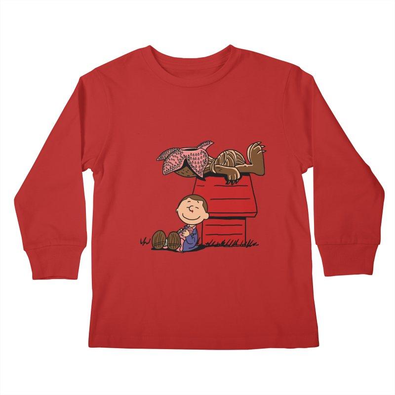Stranger Peanuts Kids Longsleeve T-Shirt by boggsnicolas's Artist Shop