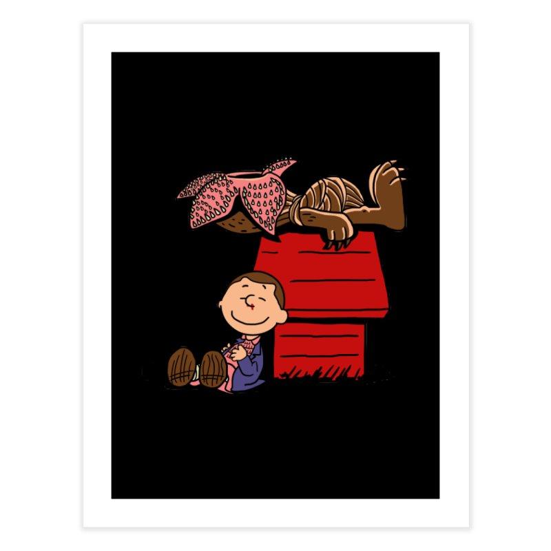 Stranger Peanuts Home Fine Art Print by boggsnicolas's Artist Shop