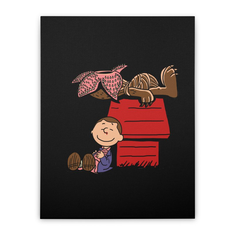 Stranger Peanuts Home Stretched Canvas by boggsnicolas's Artist Shop