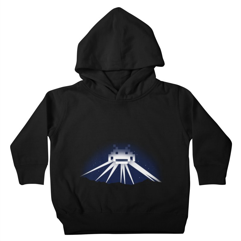 The Invader of Los Angeles Kids Toddler Pullover Hoody by boggsnicolas's Artist Shop