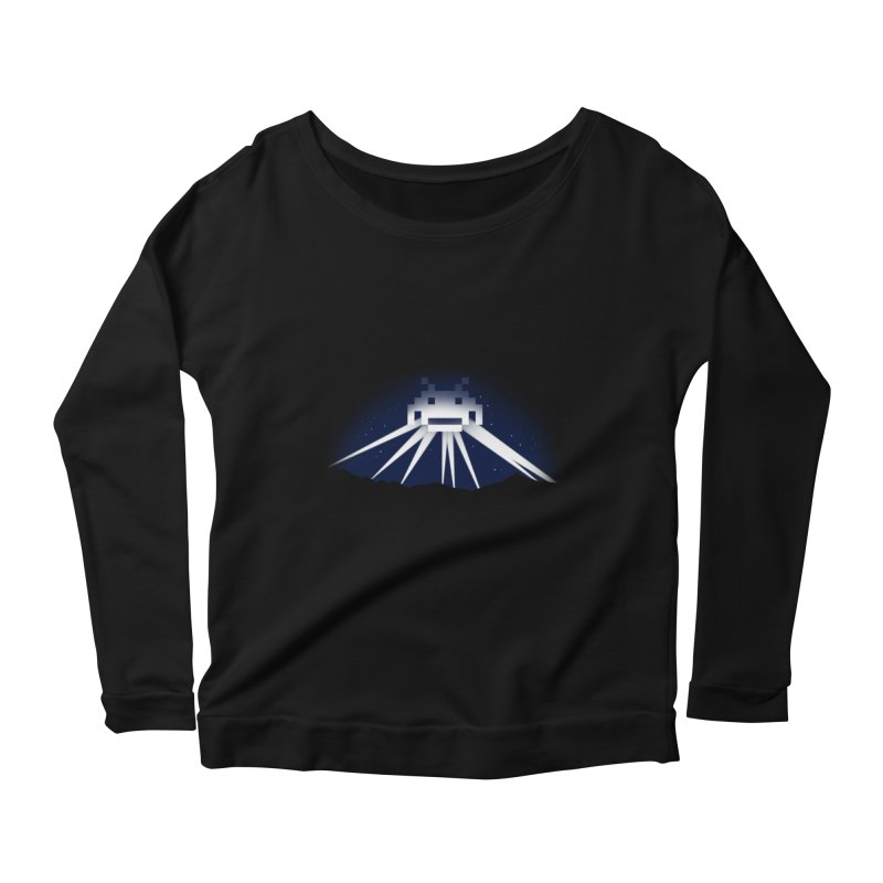 The Invader of Los Angeles Women's Longsleeve Scoopneck  by boggsnicolas's Artist Shop