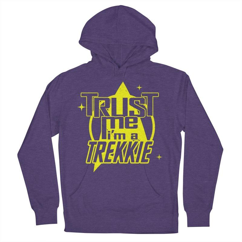 Trust me, I'm a Trekkie Men's Pullover Hoody by boggsnicolas's Artist Shop