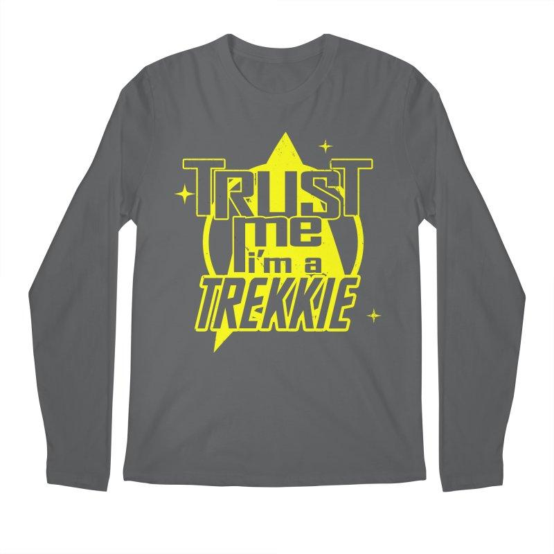 Trust me, I'm a Trekkie Men's Longsleeve T-Shirt by boggsnicolas's Artist Shop