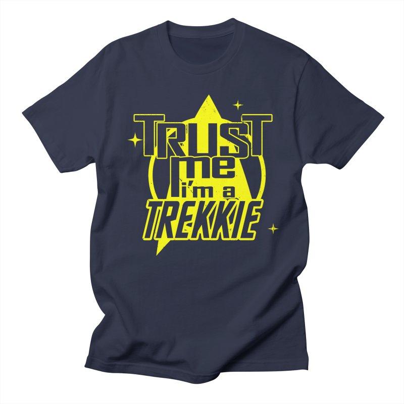 Trust me, I'm a Trekkie Men's T-shirt by boggsnicolas's Artist Shop