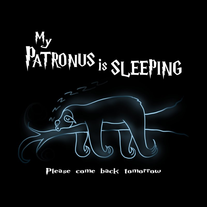 My Patronus is sleeping by boggsnicolas's Artist Shop