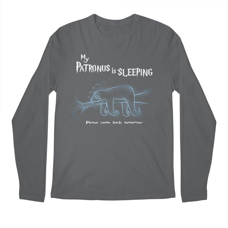 My Patronus is sleeping Men's Longsleeve T-Shirt by boggsnicolas's Artist Shop