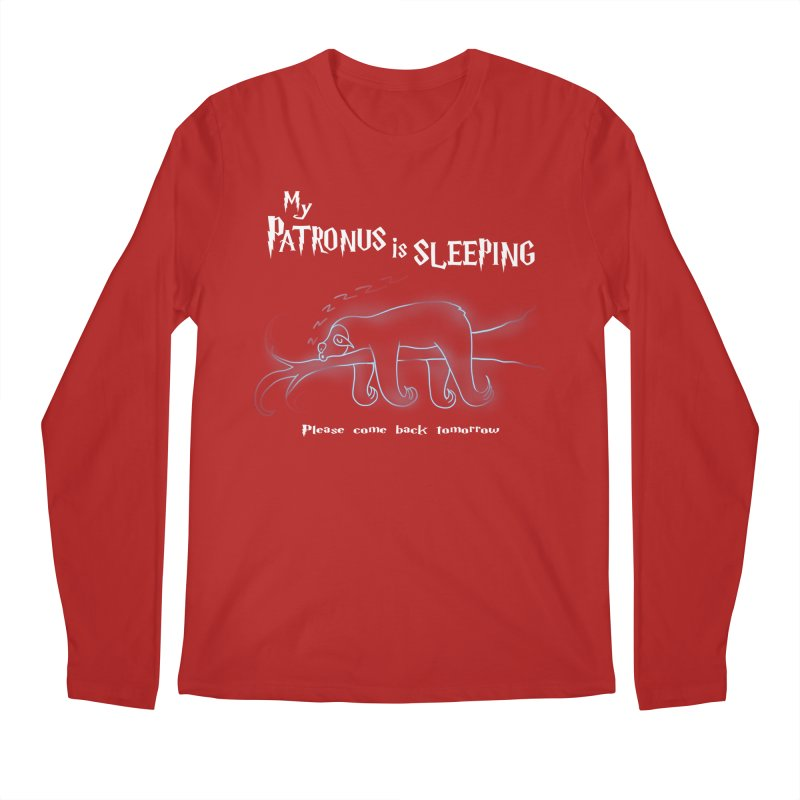 My Patronus is sleeping Men's Longsleeve T-Shirt by boggsnicolas's Artist Shop