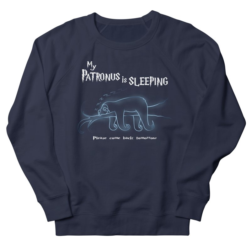 My Patronus is sleeping Men's Sweatshirt by boggsnicolas's Artist Shop