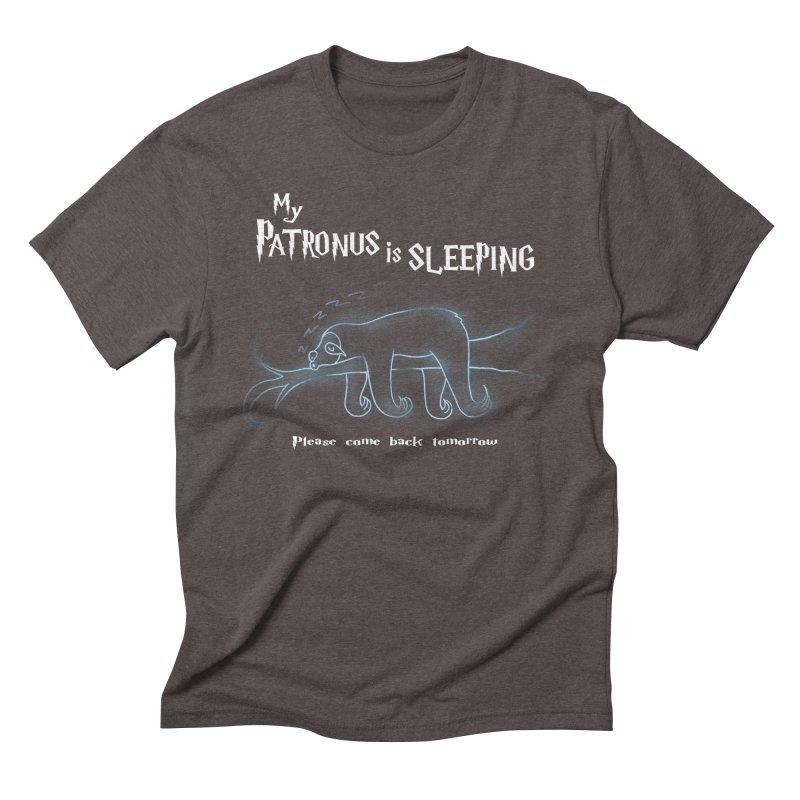 My Patronus is sleeping Men's Triblend T-shirt by boggsnicolas's Artist Shop