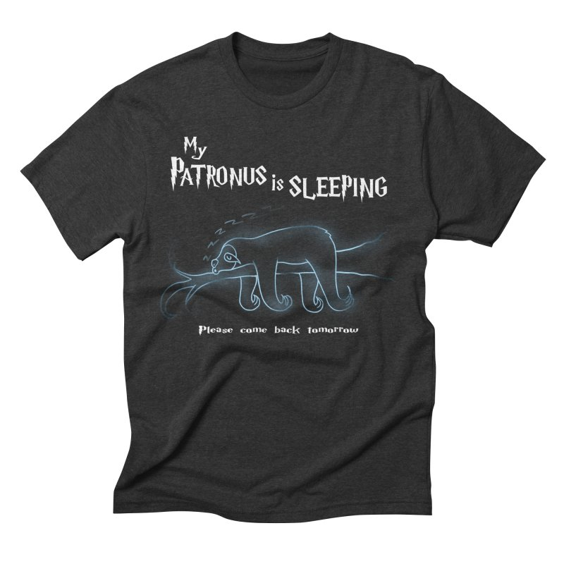 My Patronus is sleeping Men's Triblend T-shirt by boggsnicolas's Artist Shop