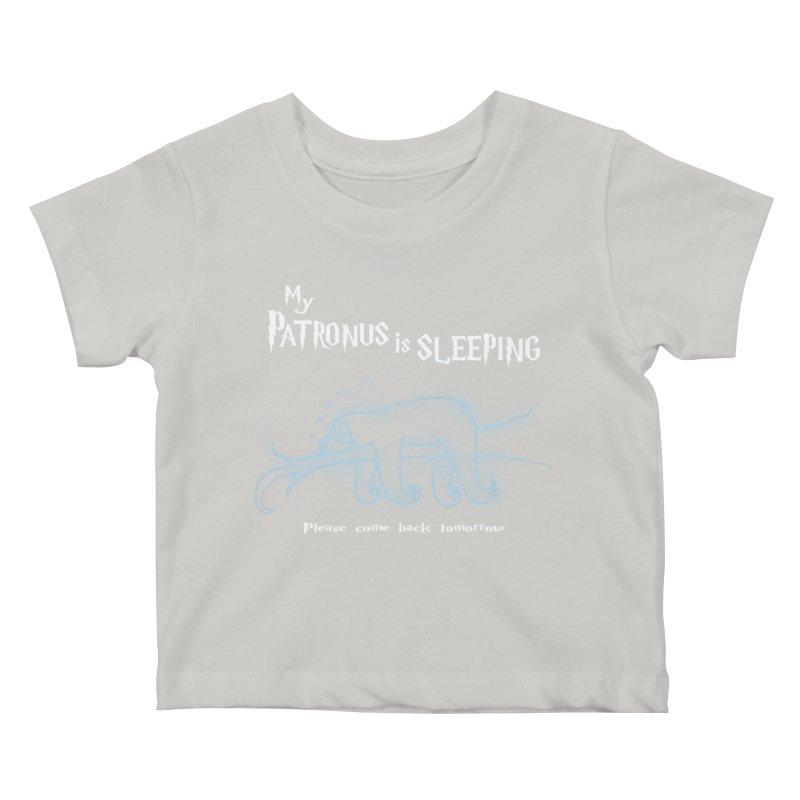 My Patronus is sleeping Kids Baby T-Shirt by boggsnicolas's Artist Shop