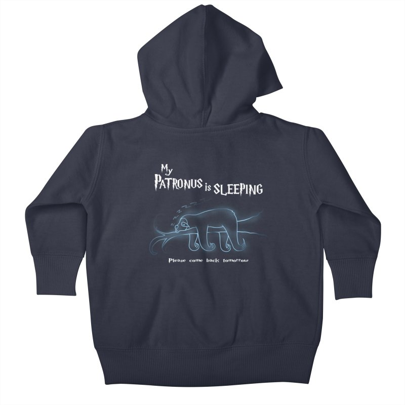 My Patronus is sleeping Kids Baby Zip-Up Hoody by boggsnicolas's Artist Shop