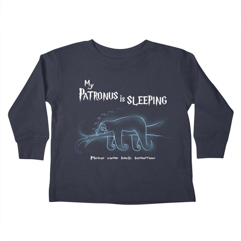 My Patronus is sleeping Kids Toddler Longsleeve T-Shirt by boggsnicolas's Artist Shop