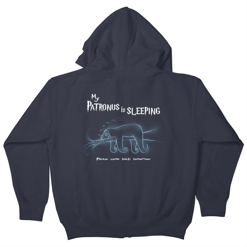My Patronus is sleeping Kids Zip-Up Hoody by boggsnicolas's Artist Shop